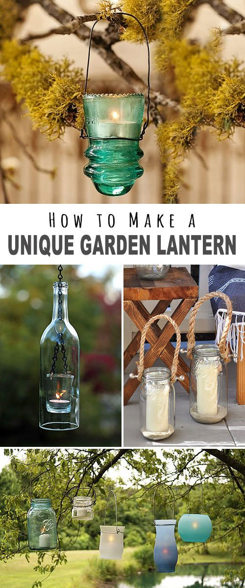 How to Make a Garden Lantern