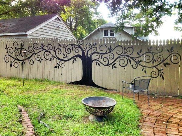 Garden fence spruce ups-13
