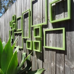 15 Creative Garden Fence Spruce Ups