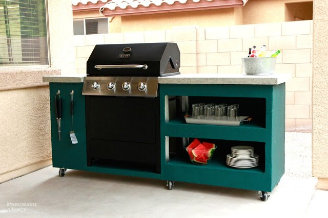 Diy Outdoor Grill Stations Kitchens