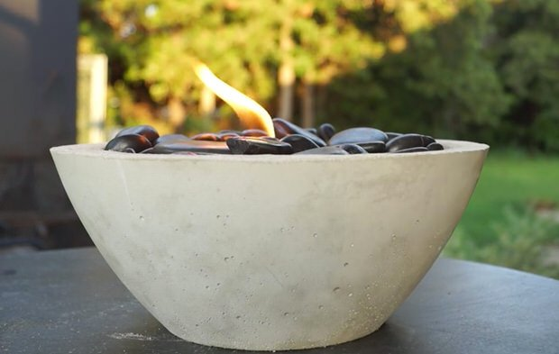 Diy Tabletop Fire Bowls The Garden Glove