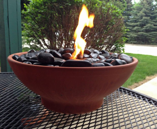 DIY Table Top Fire Pits 8