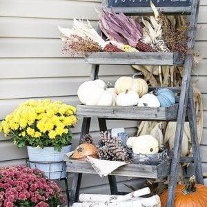 Outdoor Fall Decor & Porch Decorating Ideas