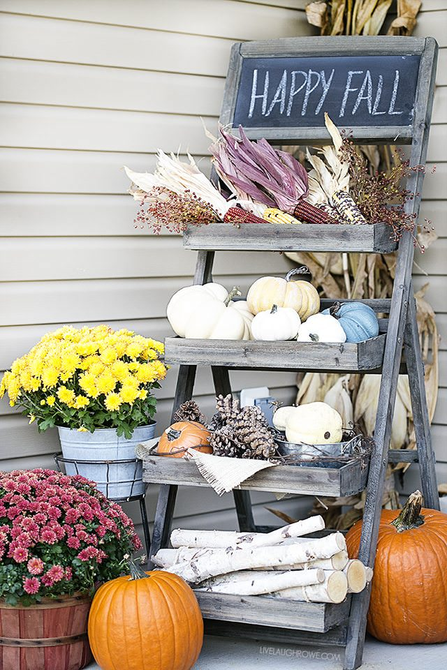 Craft Ideas For Fall Decorating  from www.thegardenglove.com