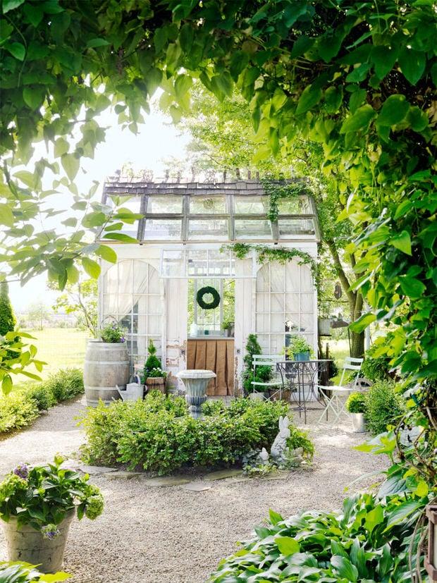 Windows and doors in garden-10