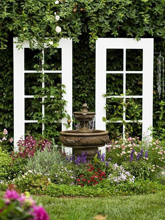 Windows and doors in garden-2