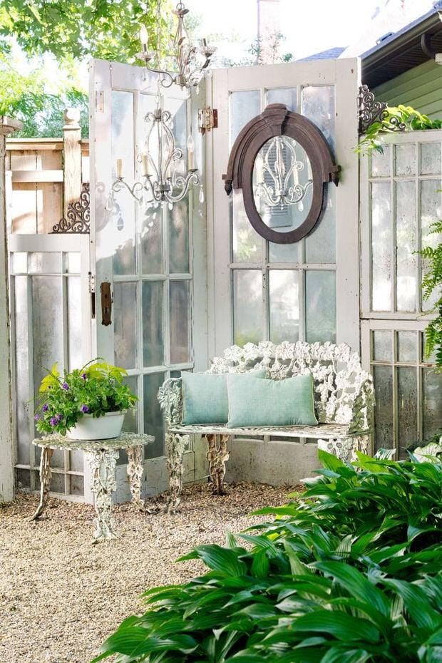 Wonderful Windows and Doors in the Garden