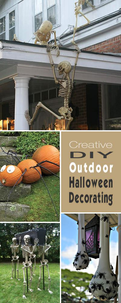 Halloween Yard.Diy Outdoor Halloween Yard Decorations The Garden Glove