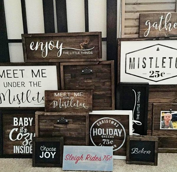 DIY holiday signs-3