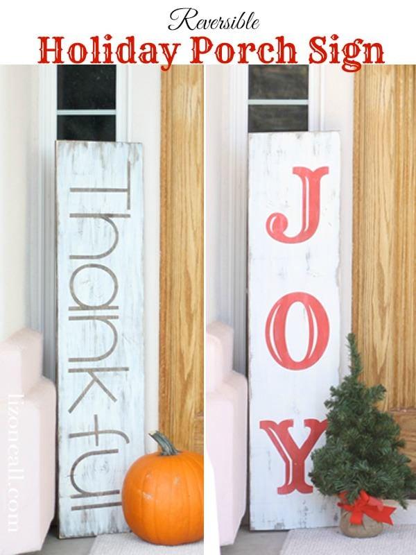 Diy Christmas Sign Ideas For The Front Porch The Garden