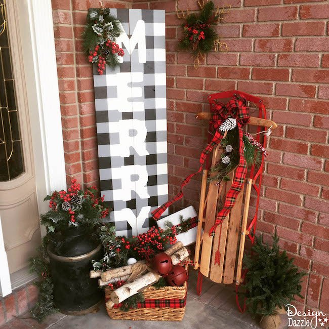 15 Easy Diy Christmas Signs For A