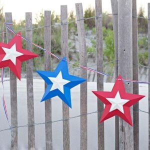 DIY 4th of July Outdoor Decorations