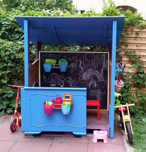 How To Build A Backyard Playhouse • The Garden Glove