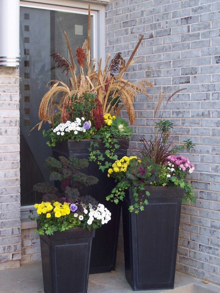 Planter Ideas For Fall Wow Em In 3 Easy Steps The