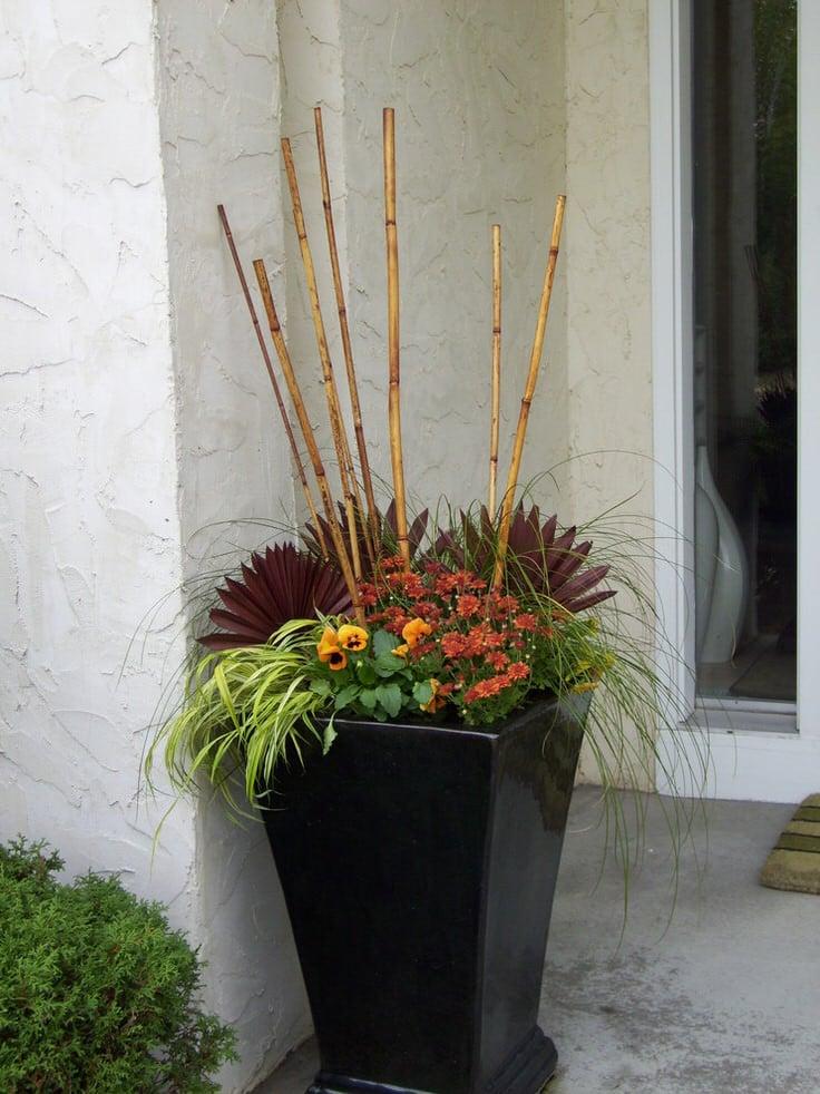 Fall Planter Ideas - Wow 'Em in 3 Easy Steps • The Garden ...