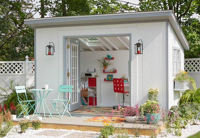 garage makeover tips and ideas - She Said I Want a SHE SHED