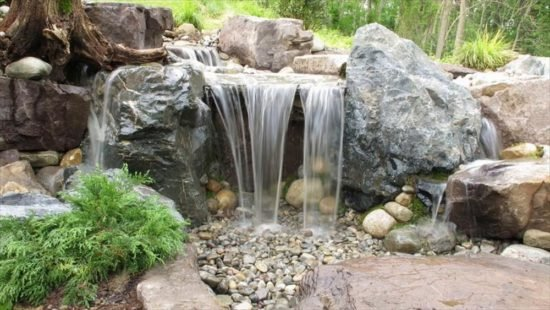 DIY Garden Waterfall Projects