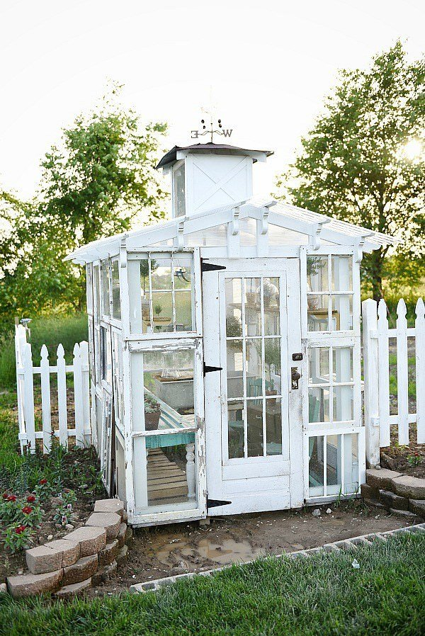 18 Awesome DIY Greenhouse Projects • The Garden Glove