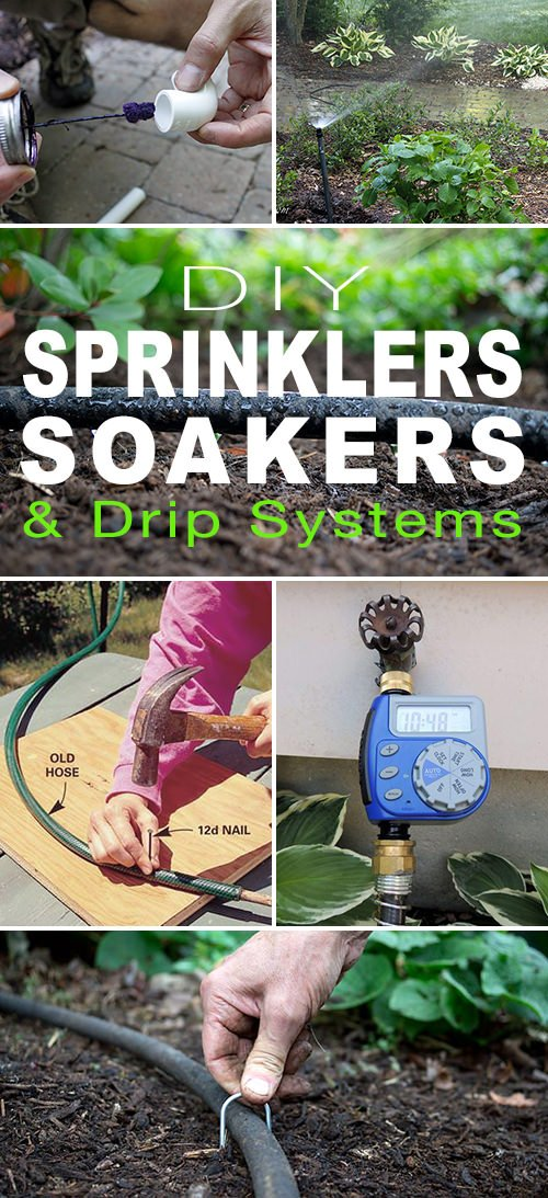 DIY Sprinklers, Soakers & Drip Systems