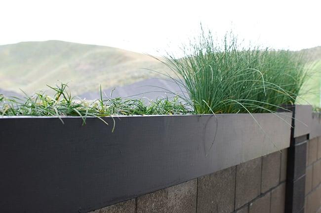 DIY Modern Outdoor Planters