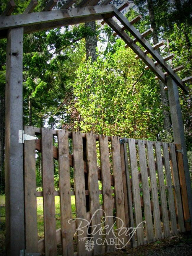 DIY Gorgeous Garden Gates The Garden Glove