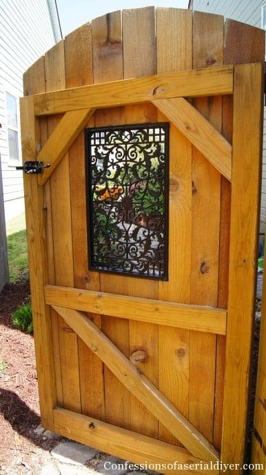 Gorgeous DIY Garden Gate Ideas & Projects • The Garden Glove