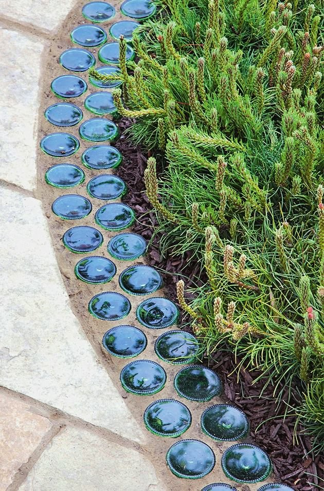 Garden Edging: Landscape Edging Ideas with Recycled Materials | The ...
