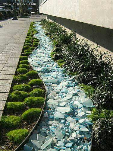 Garden Edging Landscape Edging Ideas With Recycled Materials