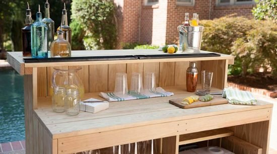 Relax... Have a Cocktail, with These DIY Outdoor Bar Ideas!