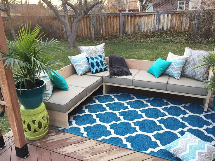 If You Are Looking For A Way To Create An Outdoor Living Space From  Scratch, Check Out This Patio From U0027Sunsetu0027. Everything About This Outdoor  Patio Can Be ...