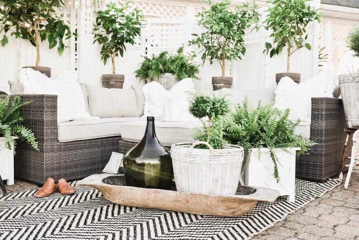 Need Some More Outdoor Patio Ideas And Inspiration? This Pretty Room From  U0027Hayneedleu0027 Has Been Pinned Thousands Of Times! Great Backyard Patio Ideas,  ...