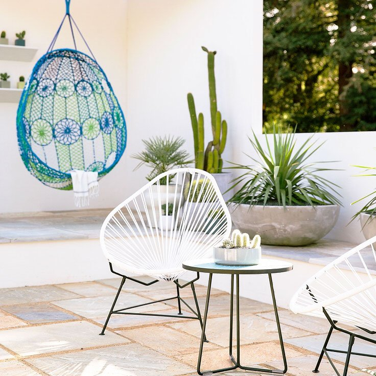 Palm Springs Inspired Patio Idea