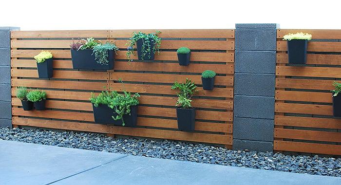 DIY Modern Plant Wall