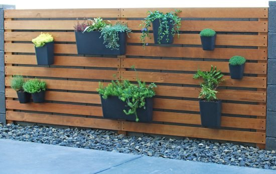 Easy & Amazing DIY Modern Living Plant Wall