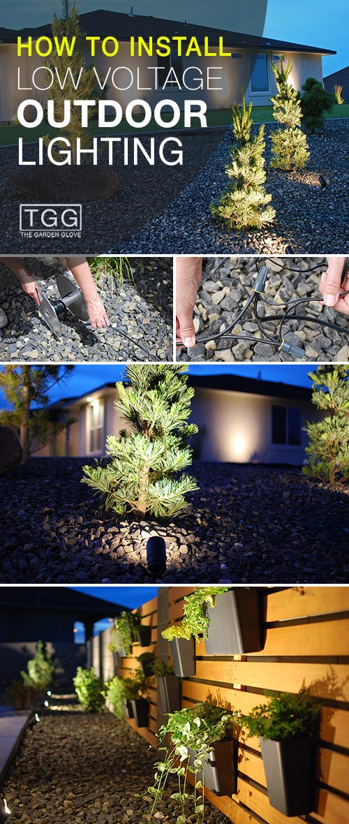 How To Install Low Voltage Outdoor Lighting • The Garden Glove  The Garden Glove
