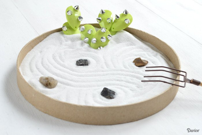 Exceptionnel ... Does Is Get Easier? This Faux Plant You Actually Make With Beads! Try  The Tutorial For This Beaded Cacti Zen Garden From U0027Live, Craft, Loveu0027.