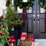 Creative Front Porch Christmas Decor