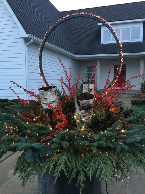 Superb Elizabeth From U0027Pretty Pink Tulipsu0027 Took Her Garden Decor And Some  Evergreen Branches And Made Some Magic! We Can Imagine This Lantern Would  Look Like A ...