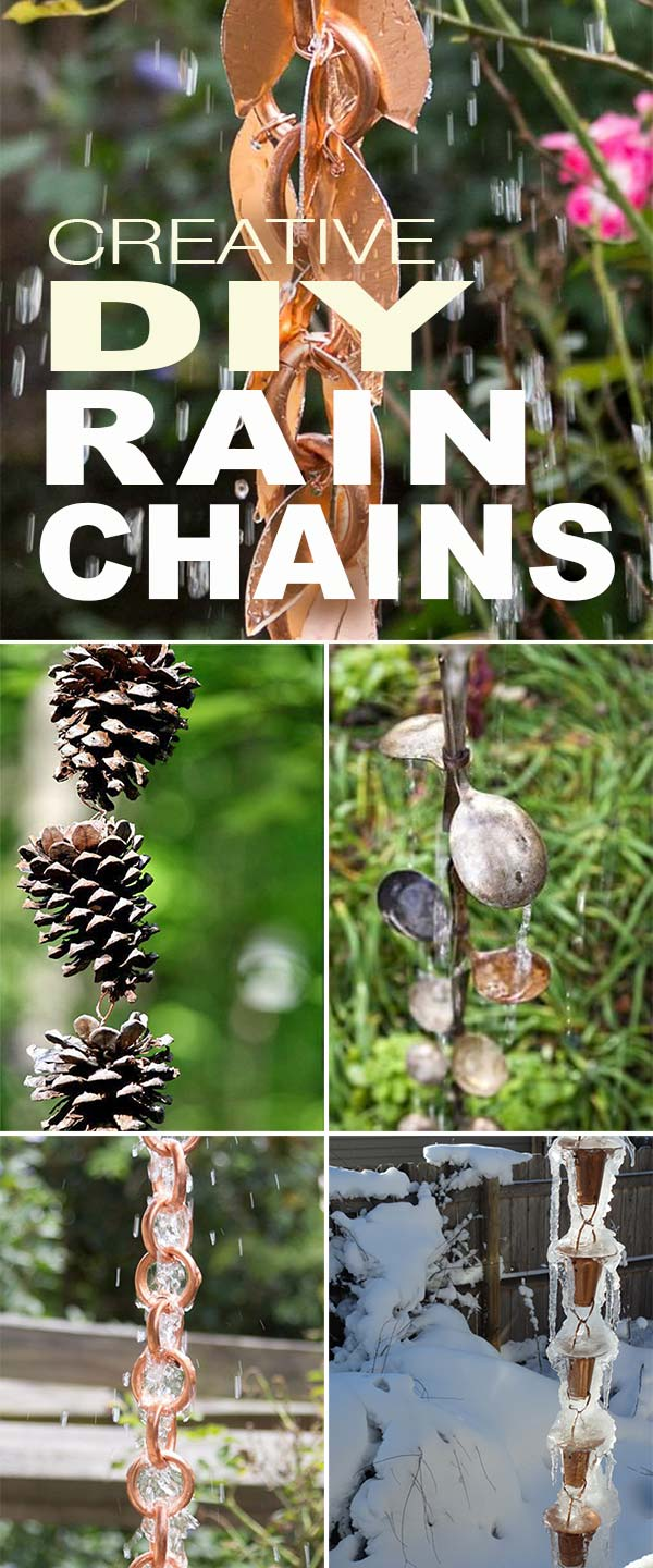 Creative DIY Rain Chains Creative DIY Rain