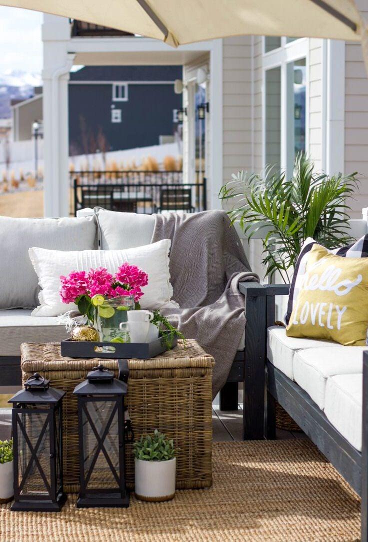 Easy Diy Outdoor Garden Amp Patio Furniture The Garden Glove