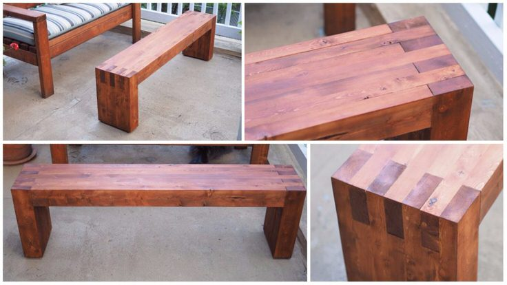 Easy diy outdoor garden patio furniture the garden glove amy at her tool belt has a diy outdoor furniture plan for you that rocks and did you read the name of her blog ladies no excuses here try her x bench watchthetrailerfo