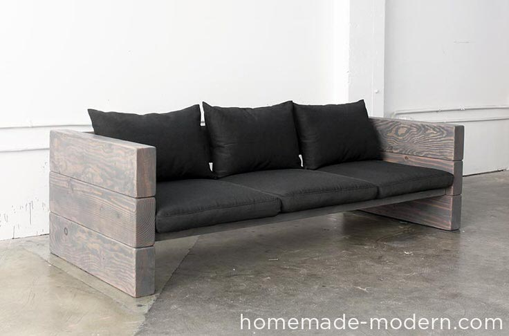 diy modern furniture. Heidi At \u0027Honeybear Lane\u0027 Made These DIY Outdoor Couches Look So Easy, I\u0027m Ready To Try It Myself! Seriously, Her Step By Photos Make Simple Diy Modern Furniture