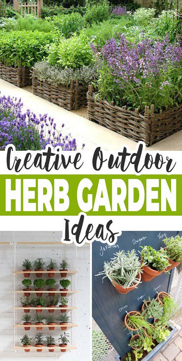 Creative Outdoor Herb Garden Ideas, Small Herb Garden Ideas