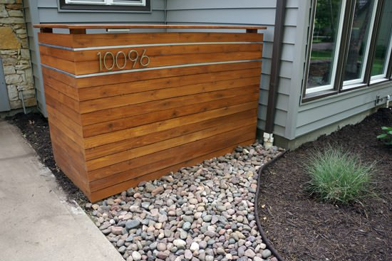 Trashy Looking Garbage Cans? Storage Ideas & Screen