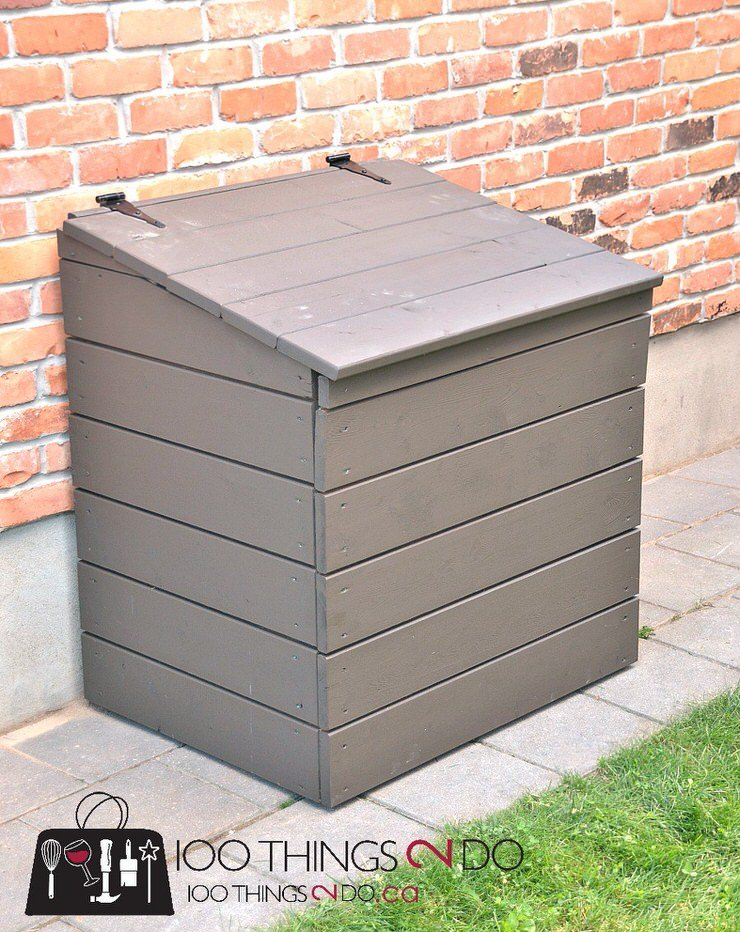 Trashy Looking Garbage Cans Storage Ideas Amp Screen
