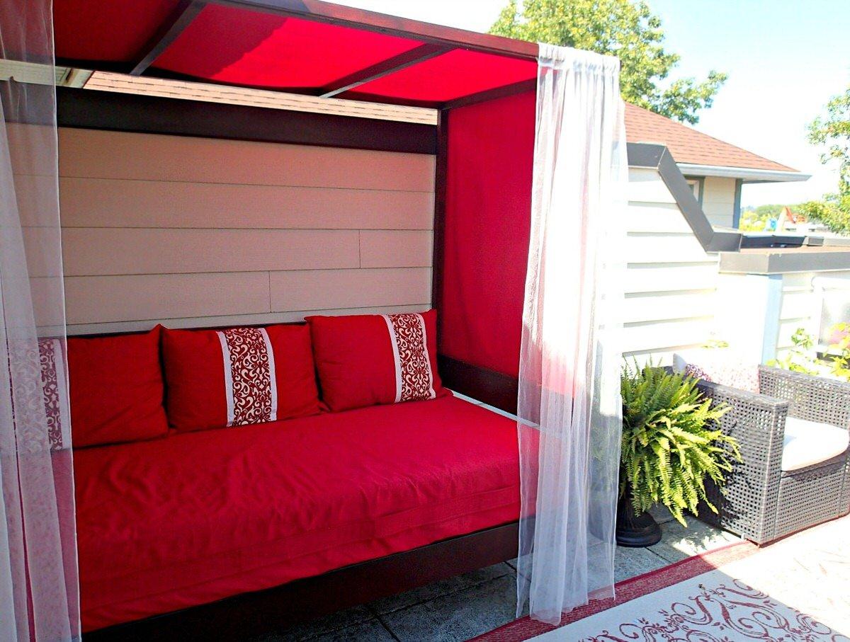 Diy outdoor cabana