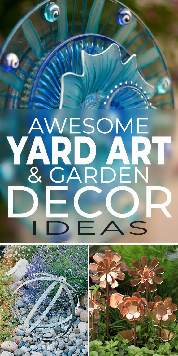 Awesome Yard Art Garden Decoration Ideas The Garden Glove