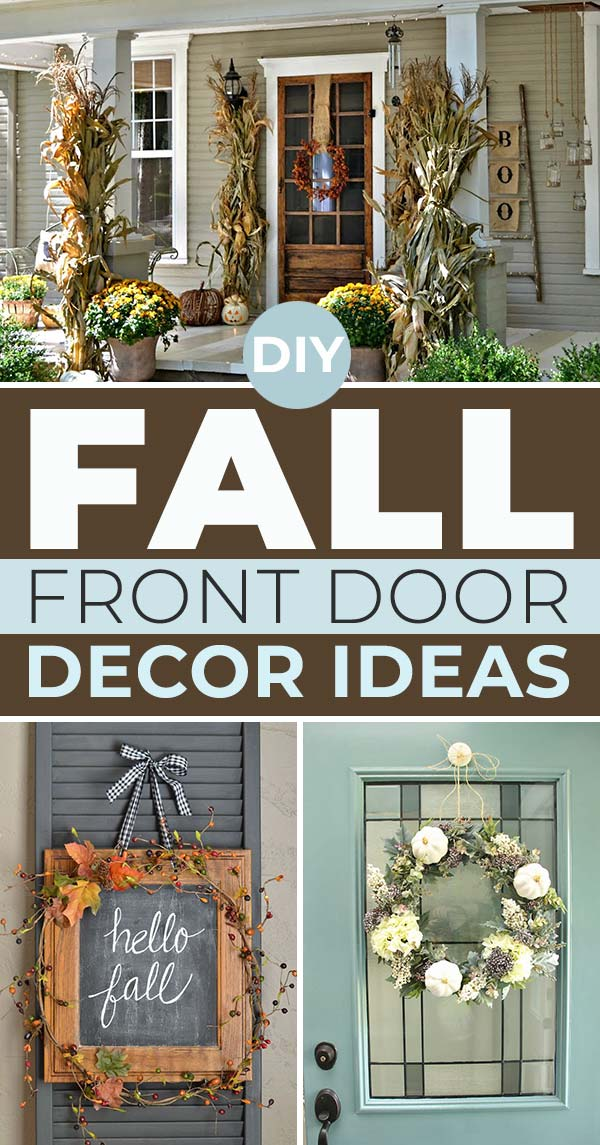 DIY Fall Front Door Decorations