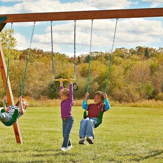 Best DIY Swing Set Plans For Backyard Fun