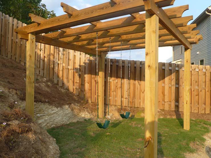 Best DIY Swing Set Plans For Backyard Fun • The Garden Glove